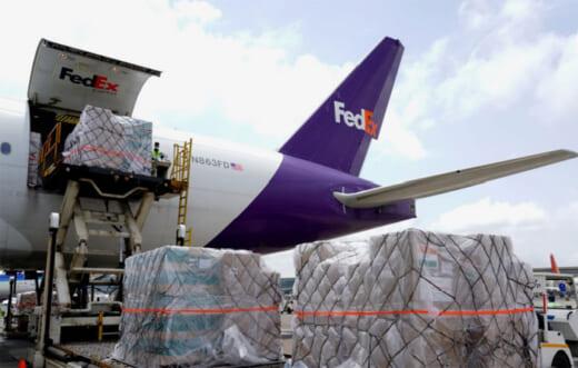 20210616fedex 520x331 - フェデックス/インドの新型コロナ支援でチャーター便提供