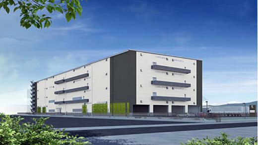 20210617glr1 520x293 - GLR/神戸市須磨区で1.9万m2の物流施設プロジェクト着工