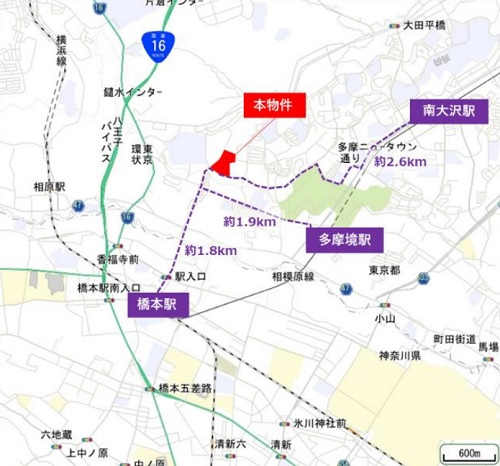 20210621nomura1 - 野村不動産/楽天1棟借り、東京都八王子市で物流施設着工