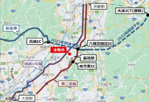 20210623nihonseimei1 520x356 - 日本生命/大阪府枚方市の5.7万m2物流施設取得