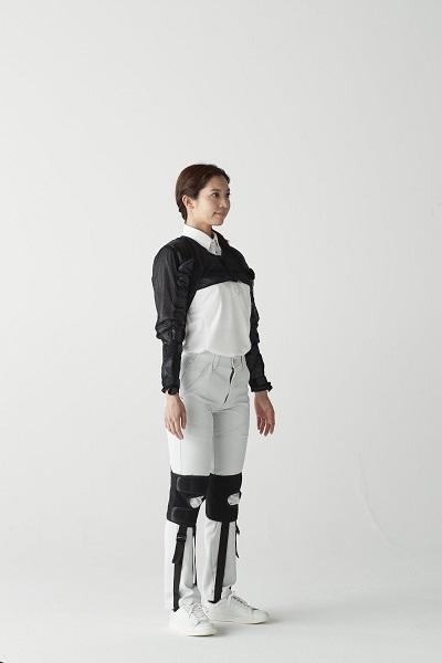 20210629asahicho1 - Asahicho/1分で装着できる腰・腕補助のアシストスーツ発売