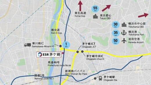 20210706esr2 520x292 - ESR/神奈川県茅ヶ崎市で6.9万m2の「ESR茅ヶ崎DC」竣工