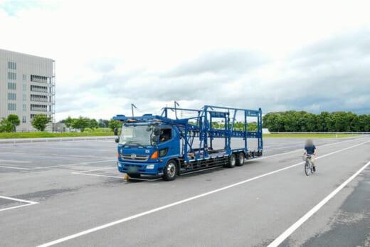 20210709asmee1 520x347 - Azmee/大型トラック用安全AIカメラシステムの能力試験実施