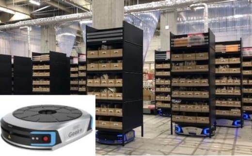 20210714askul1 520x322 - アスクル/物流現場のDX加速へアーム型ロボットやAGV導入