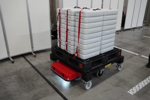 20210715zmp1 520x346 - ZMP/物流倉庫の完全無人搬送ソリューションを披露