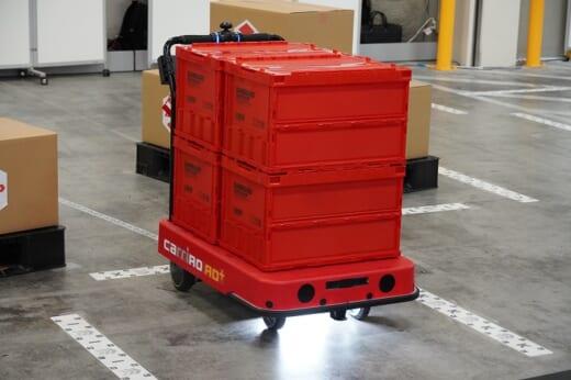 20210715zmp3 520x346 - ZMP/物流倉庫の完全無人搬送ソリューションを披露