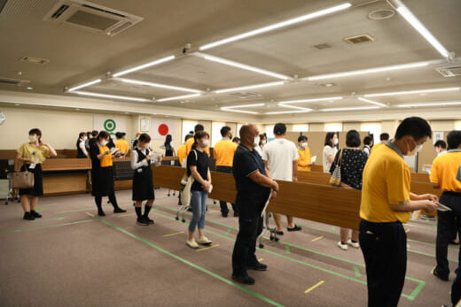 20210716fukutsu1 520x347 - 福山通運/7月13日、14日にワクチンの職域接種実施