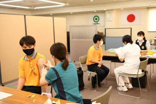 20210716fukutsu2 520x347 - 福山通運/7月13日、14日にワクチンの職域接種実施
