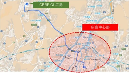 20210716glr1 520x293 - GLR/8月4・5・6日、広島市安佐南区の物流施設で竣工内覧会