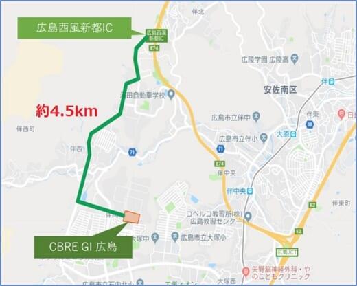 20210716glr3 520x416 - GLR/8月4・5・6日、広島市安佐南区の物流施設で竣工内覧会
