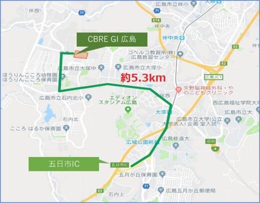 20210716glr4 520x407 - GLR/8月4・5・6日、広島市安佐南区の物流施設で竣工内覧会