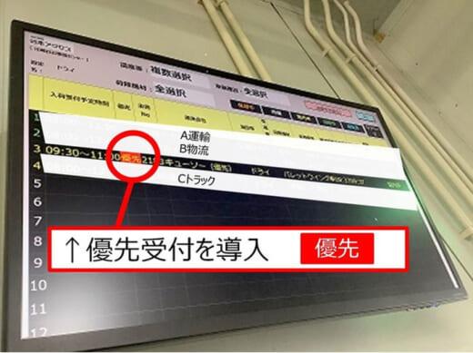20210716qp2 520x389 - キユーピー/日本アクセスと共同で納品全体の最適化実現