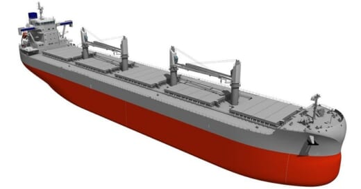 20210719orix 520x273 - オリックス/常石造船の最新鋭エコシップ2隻発注