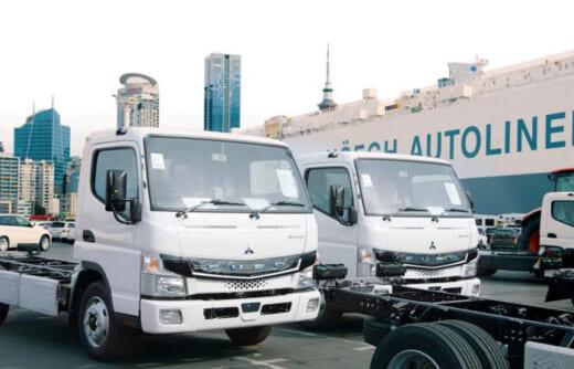 20210720mftbc 520x334 - 三菱ふそう/ニュージーランド市場に電気小型トラック投入