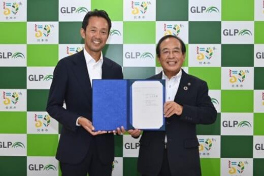 20210721glp1 520x348 - 日本GLP/埼玉県北本市で5.5万m2物流施設を満床竣工