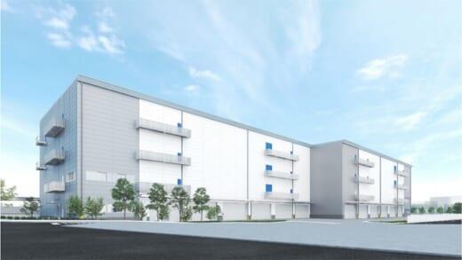 20210726cpd 520x293 - CPD/大阪市西淀川区で3.1万m2の物流施設を着工