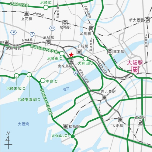 20210726cpd1 - CPD/大阪市西淀川区で3.1万m2の物流施設を着工