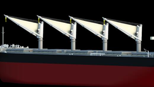 20210727mol2 520x293 - 商船三井/洋上風を船舶の推進力へ新たな省エネ技術共同開発