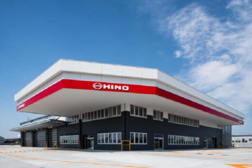 20210728hino 520x346 - 大阪日野自動車/大阪市住之江区に新支店、8月3日営業開始