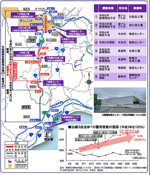 20210729nexcoc 520x609 - NEXCO中日本/中部横断自動車道山梨~静岡間全線開通