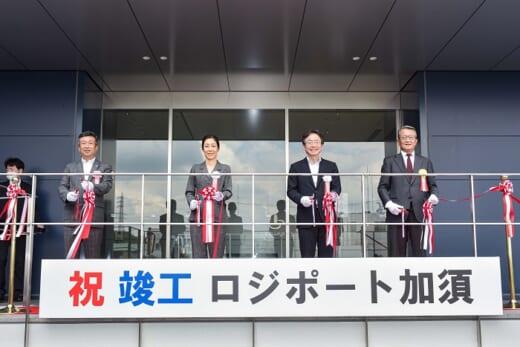 20210802lasalle2 520x347 - ラサール、NIPPO/埼玉県加須市で12.1万m2物流施設竣工