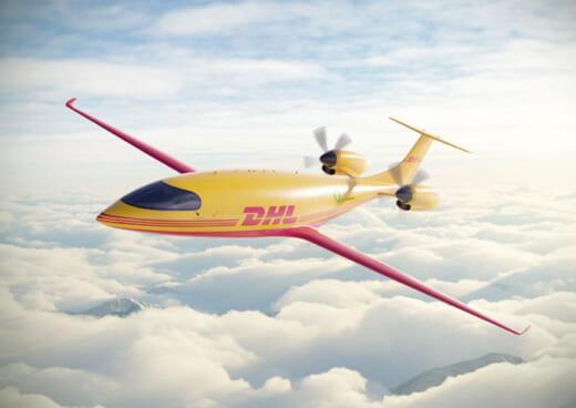 20210804dhl 520x368 - DHLエクスプレス/史上初めての電気式の貨物機「Alice」を発注