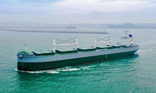 20210804kawasakig 520x309 - 川崎重工/ばら積運搬船「SABRINA FAIR」を引き渡し