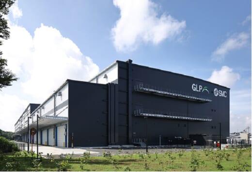 20210805glp 520x354 - 日本GLP/茨城県常総市で6.1万m2物流施設竣工、SMCが全棟利用