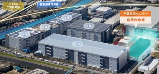 20210805ntt1 520x243 - NTTロジスコ/千葉物流センターに化粧品専用の危険物倉庫