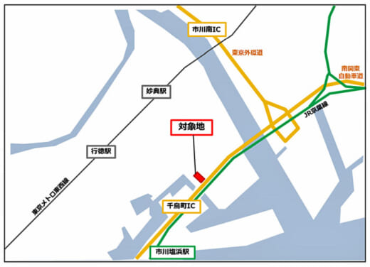 20210806jrw2 520x376 - JR西日本不動産開発/千葉県市川市で冷凍冷蔵倉庫開発に着手