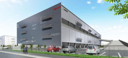 20210826tonami1 520x237 - トナミHD/兵庫県尼崎市の物流拠点を大型先進物流施設に更新