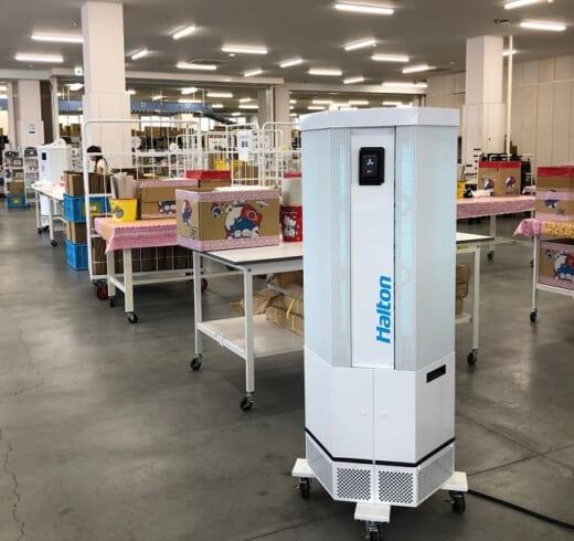 20210827sanrio1 520x490 - サンリオ/配送拠点の感染対策強化でUV空気清浄機増設