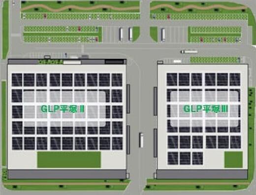 20210907glp2 520x397 - 日本GLP/神奈川県平塚市で3.6万m2と2.8万m2の物流施設開発