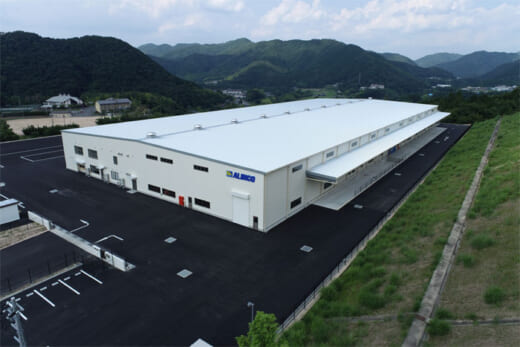 20210913alinco1 520x347 - アルインコ/6月竣工の福知山物流センター、8月30日稼働