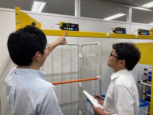 20210913takahata2 520x390 - タカハタ電子/東京・茅場町にピッキングシステムのショールーム