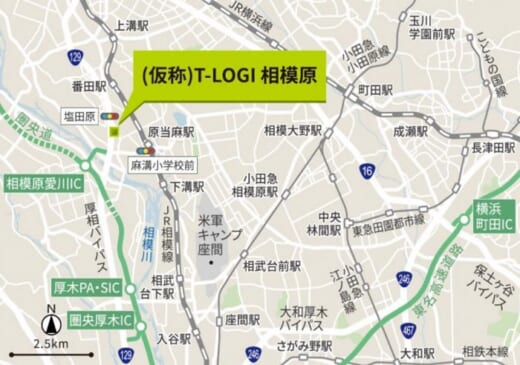 20210913tokyotatemono 520x365 - 東京建物/神奈川内陸に物流施設2棟建設、外装デザイン統一