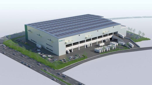 20210915prologis 520x293 - プロロジス/仙台市にBTS、マルチにも対応可能な物流施設開発