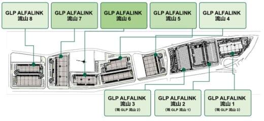 20210916glp24 520x238 - 日本GLP/「GLP ALFALINK 流山」最大規模の物流施設を竣工