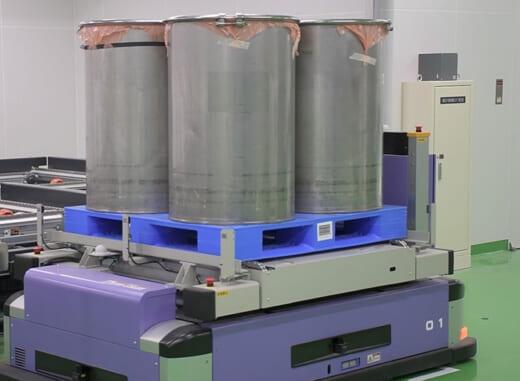 20210916mandom2 520x381 - マンダム/福崎工場敷地内に新生産棟、無人搬送ロボット導入