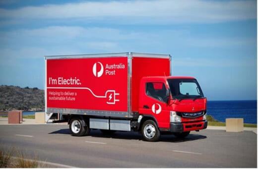 20210917mftbc 520x341 - 三菱ふそう/豪州郵便公社が電気小型トラック20台を導入
