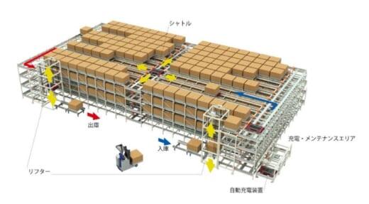 20210917okamura 520x287 - オカムラ/パレット品の高密度保管システムを発売