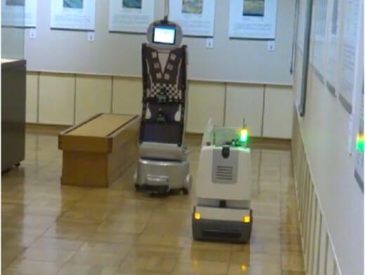 20210917toshiba2 520x392 - 東芝/複数台ロボットによる協調搬送を実現