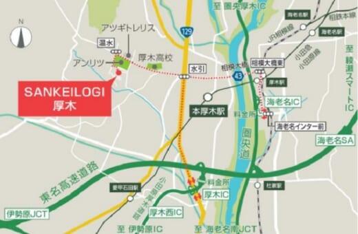 20210921sankei2 520x340 - サンケイビル/単独事業第2弾の物流施設を神奈川県厚木市で着工