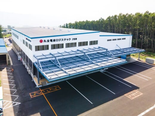 20210927maruzen 520x390 - 丸全電産ロジステック/長野・伊那倉庫営業所で新倉庫棟竣工