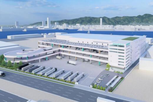 20210927nitori 520x347 - ニトリHD/国内物流拠点再配置、兵庫県神戸市に物流センター新設