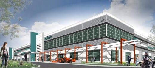 20211007kubota 520x228 - クボタ/米国販売子会社がカリフォルニア州に物流拠点建設