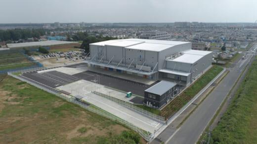 20211008nikkon1r 520x293 - 日本梱包運輸倉庫/千葉県印西市にハブ拠点「印西営業所」竣工