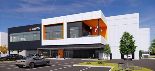 20211008sanritsu 520x239 - サンリツ/米国子会社がカリフォルニア州に新倉庫建設