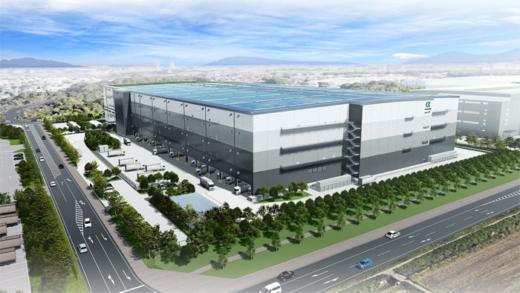 20211011nihonglp 520x293 - 日本GLP/千葉県流山市で専用施設となる12万m2の物流施設着工