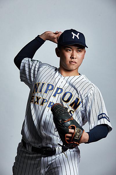 20211012nittsu 1 - 日通/柴田 大地投手が東京ヤクルトスワローズから3位指名